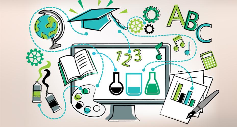 تصميم موقع للتعليم عن بعد