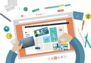 طريقة تصميم المواقع الالكترونية