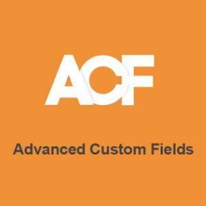 Advanced Custom Fields ACF